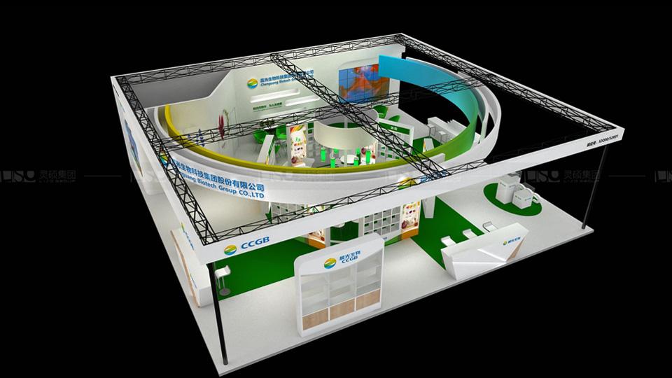 晨光生物-FIC展览设计案例