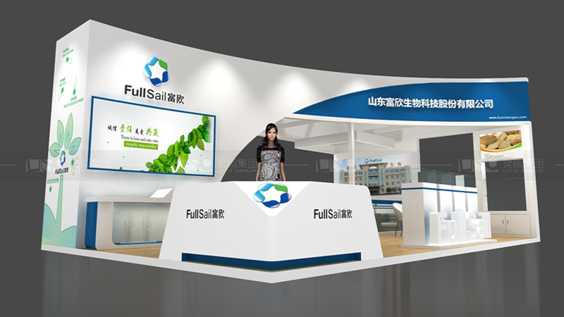 富欣生物-FIC展览设计搭建案例