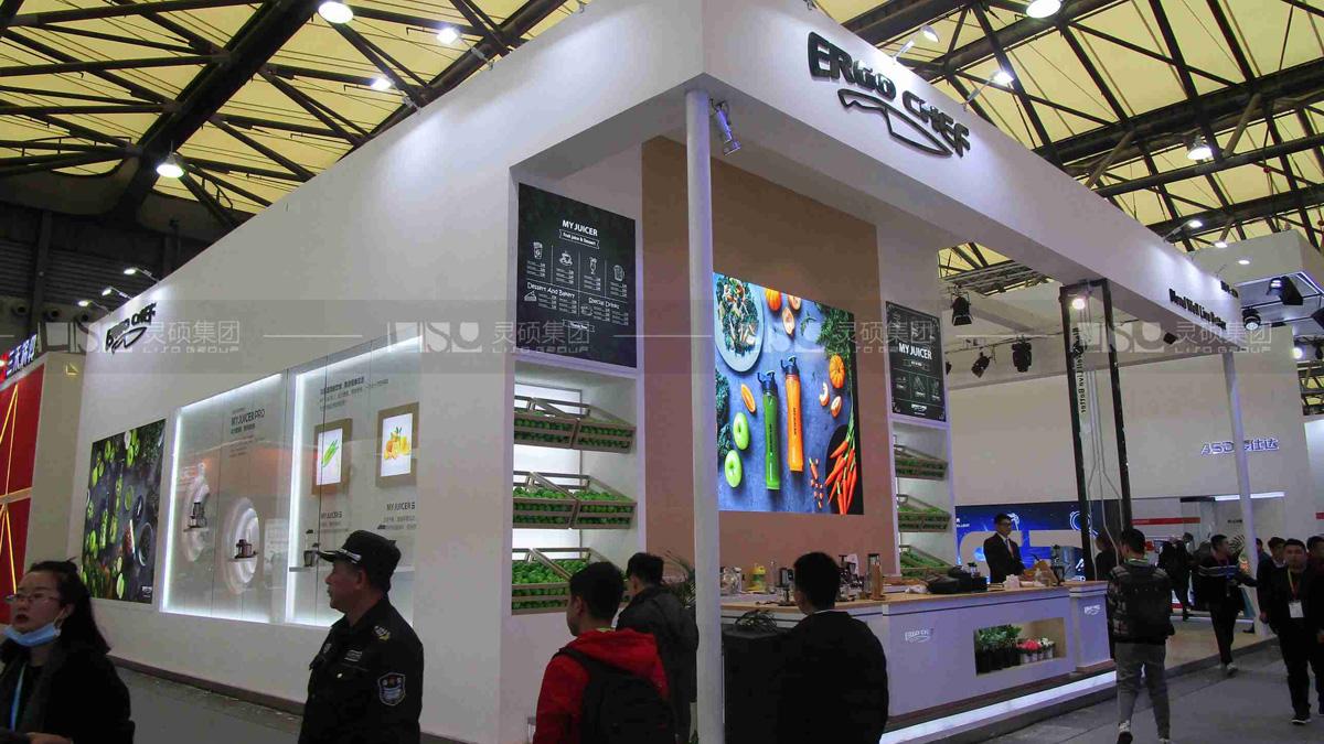 信安亚-AWE展台案例
