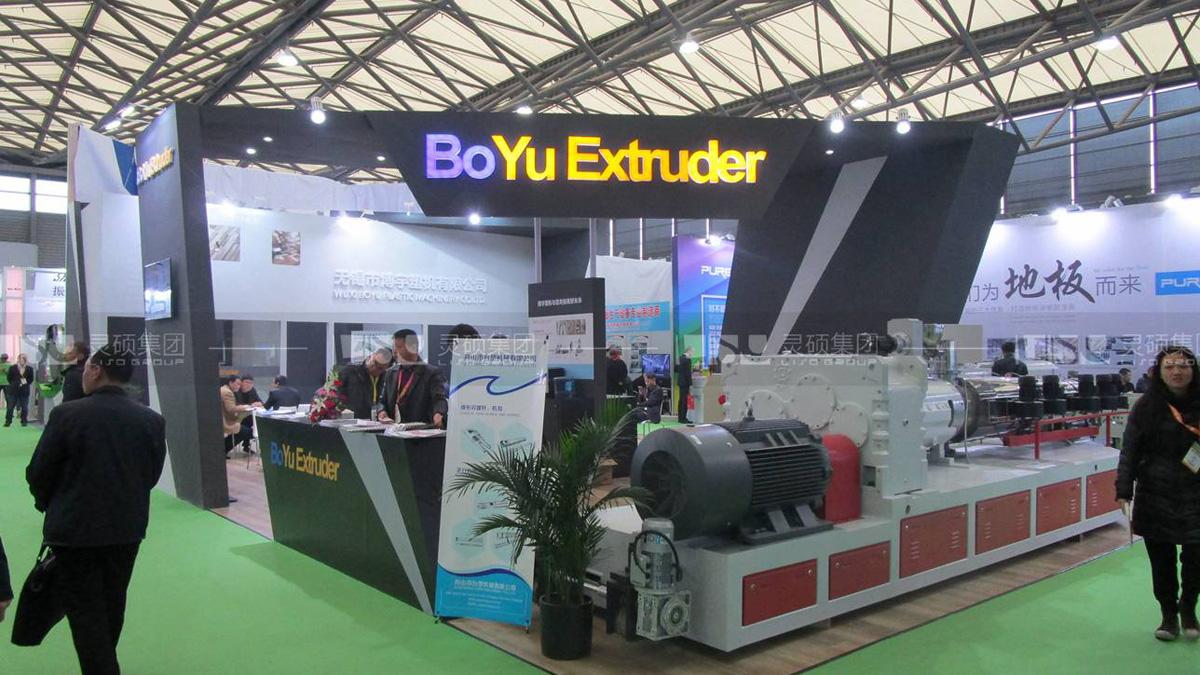 博宇-地面材料展台案例