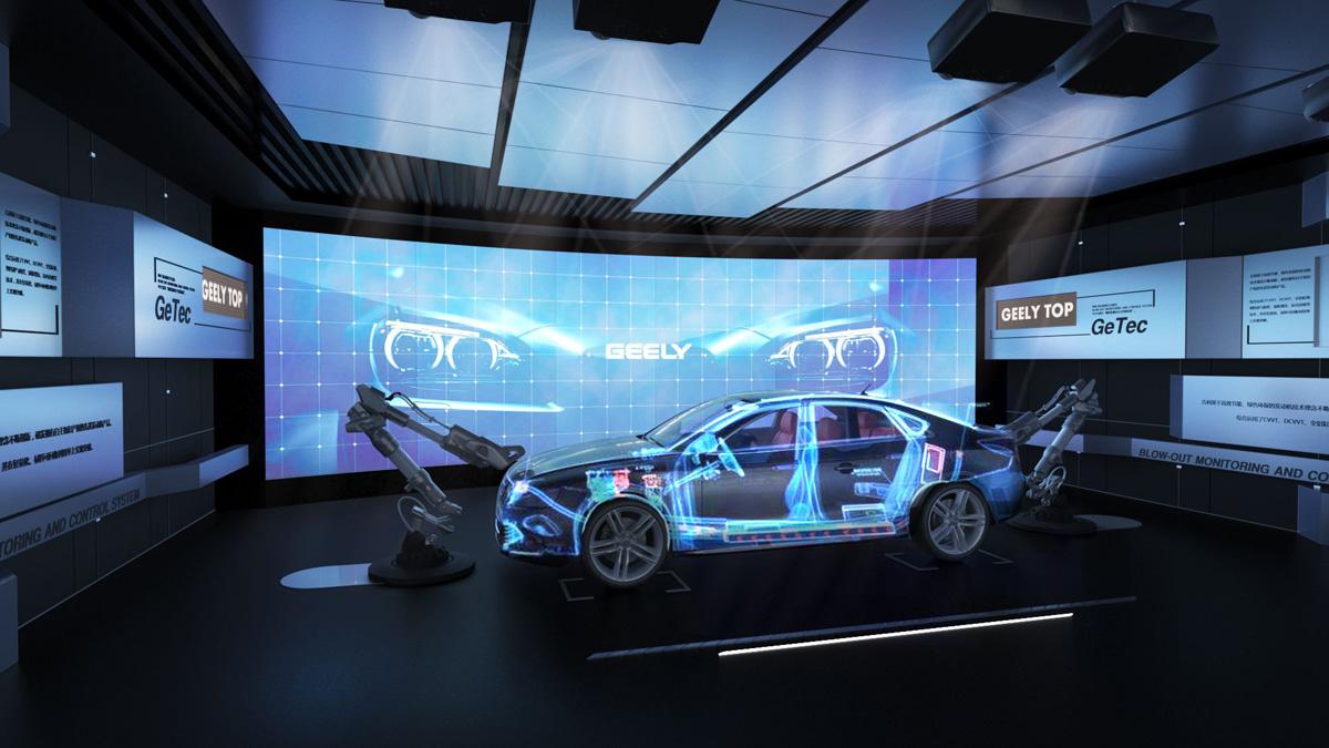 杭州吉利汽车企业展厅