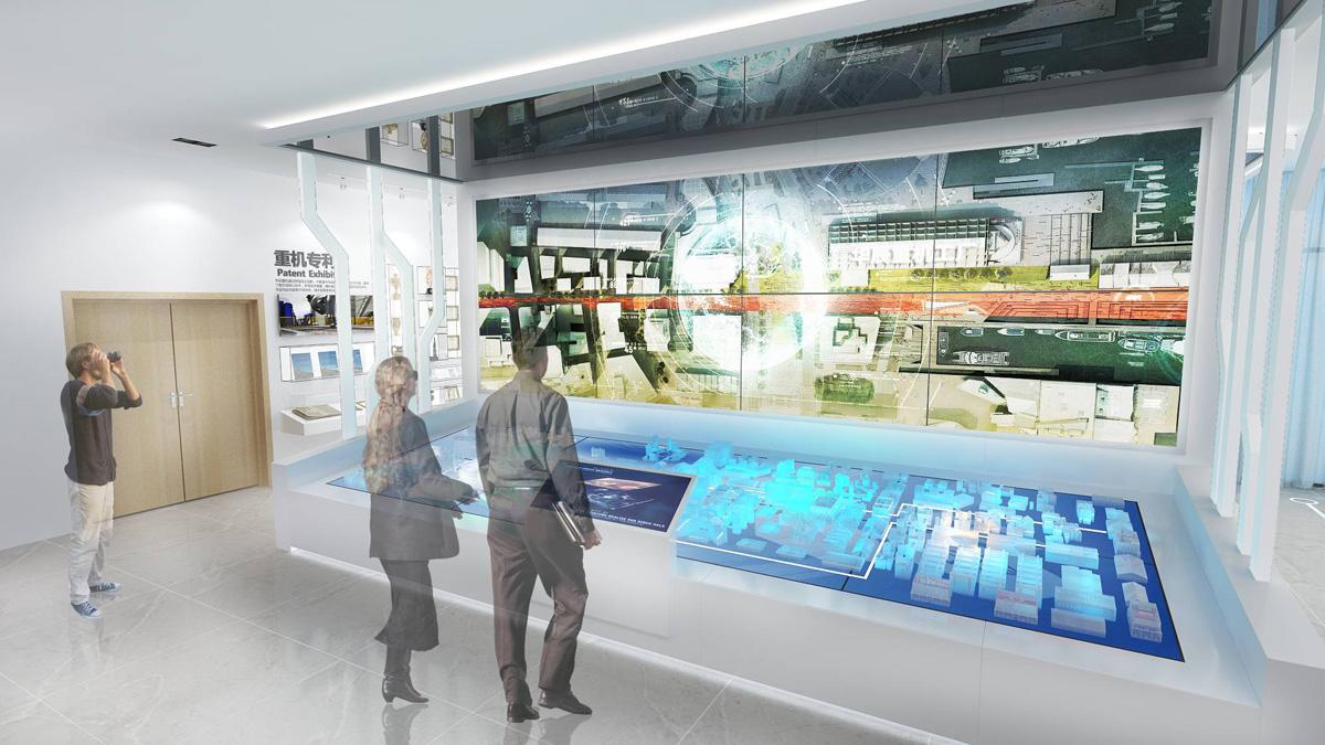 华辰重工企业展厅