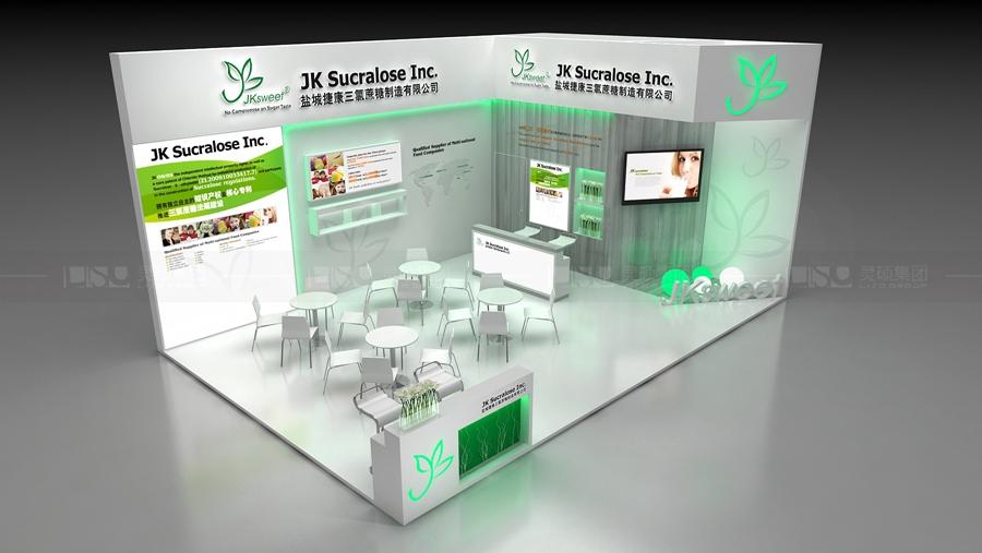昆达生物-CHPI制药展台设计案例