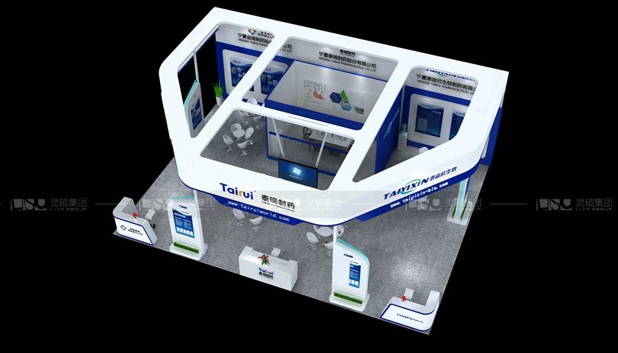 泰瑞-医疗展展台设计案例