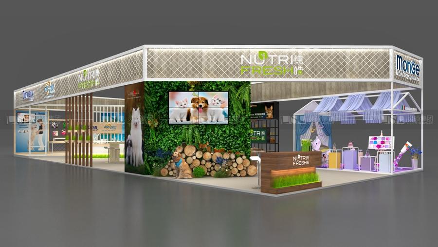 晟诺-宠物展展台设计案例