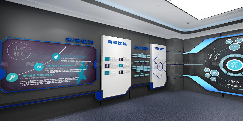 2345集团企业展厅设计案例
