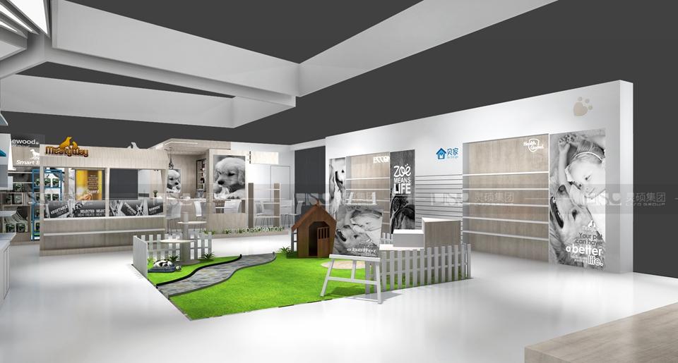 禾仕嘉-宠物展展台设计案例