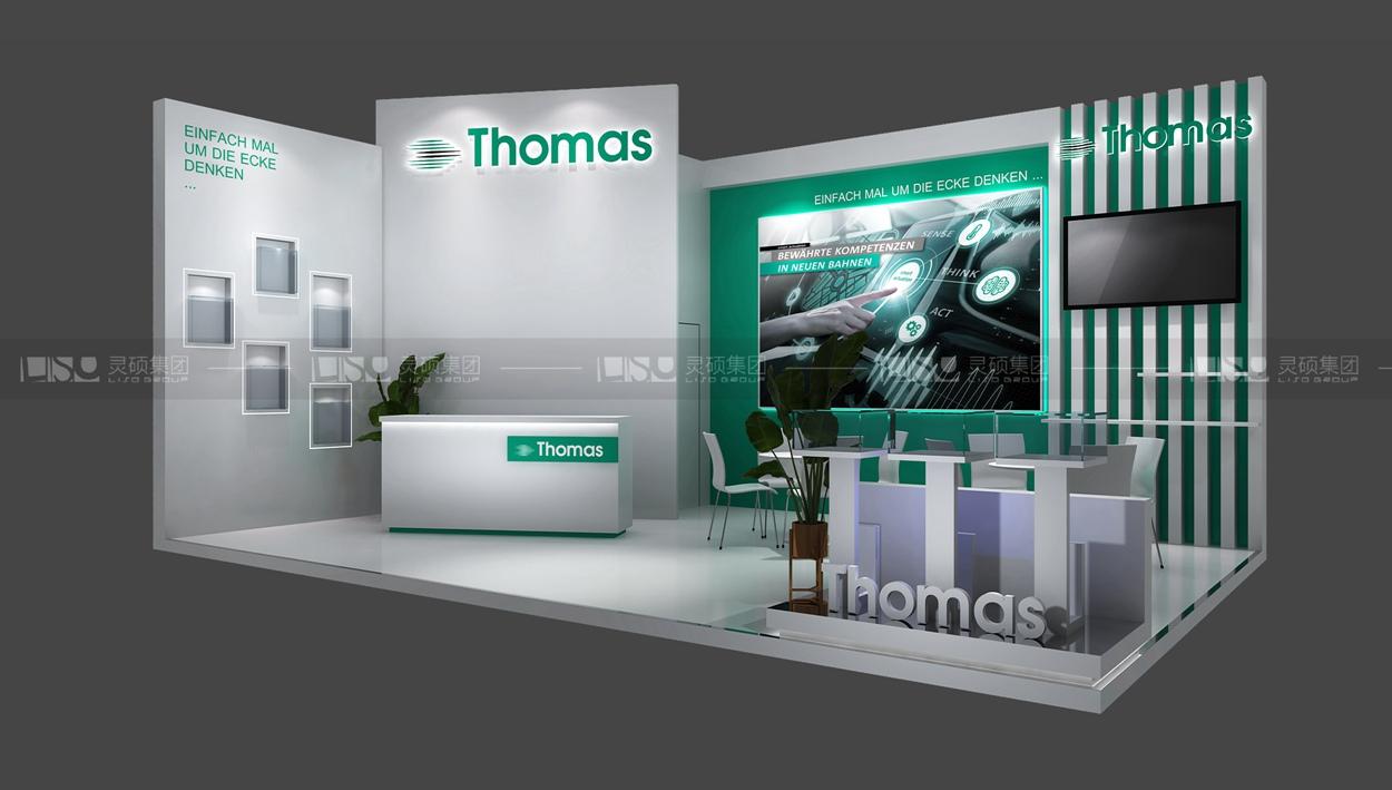 托马斯-宝马展台搭建案例