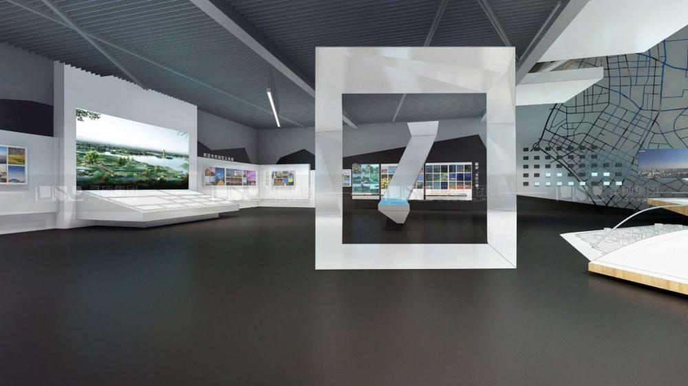 秀洲工业园规划馆设计搭建案例