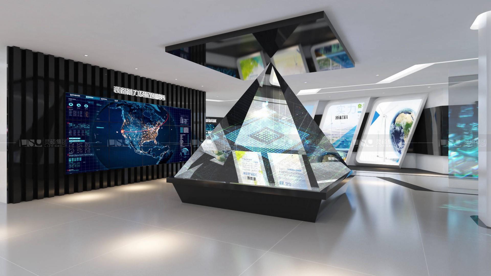 天沃科技企业规划馆设计案例