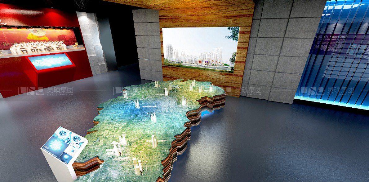 有色地质勘探局体验厅设计案例