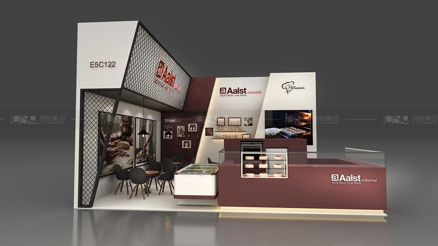 奥世-焙烤展展台设计案例