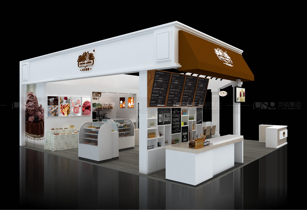 可可琳纳-焙烤展展台设计案例