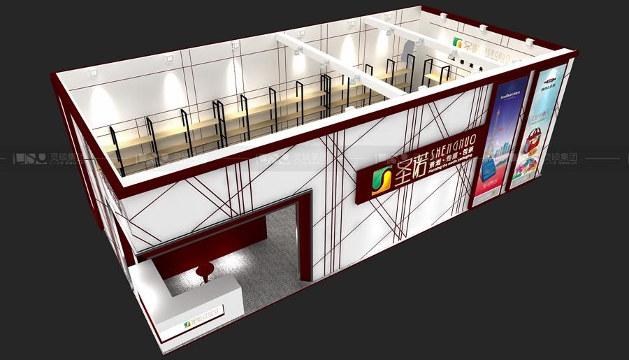 圣诺-焙烤展展台设计案例