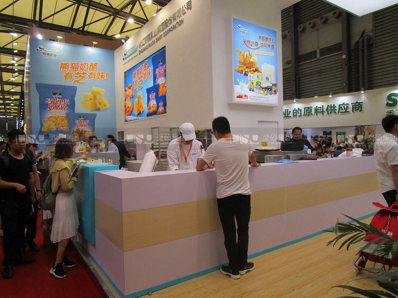 熊猫-焙烤展展台设计案例