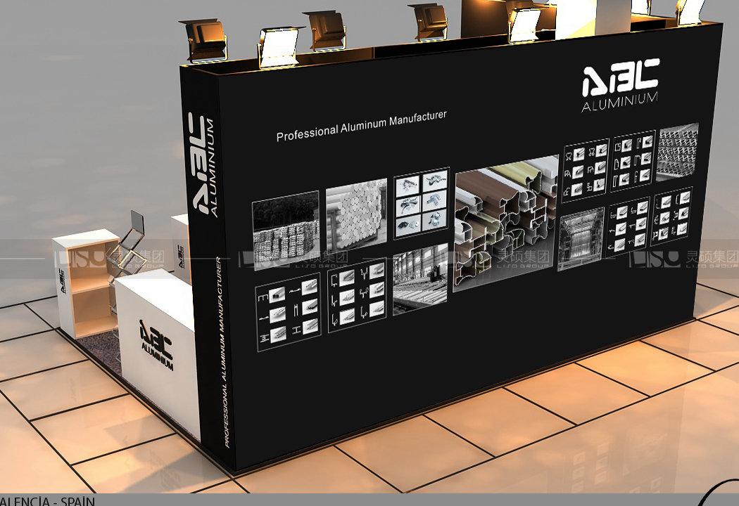 DRM-西班牙木工机械展台设计