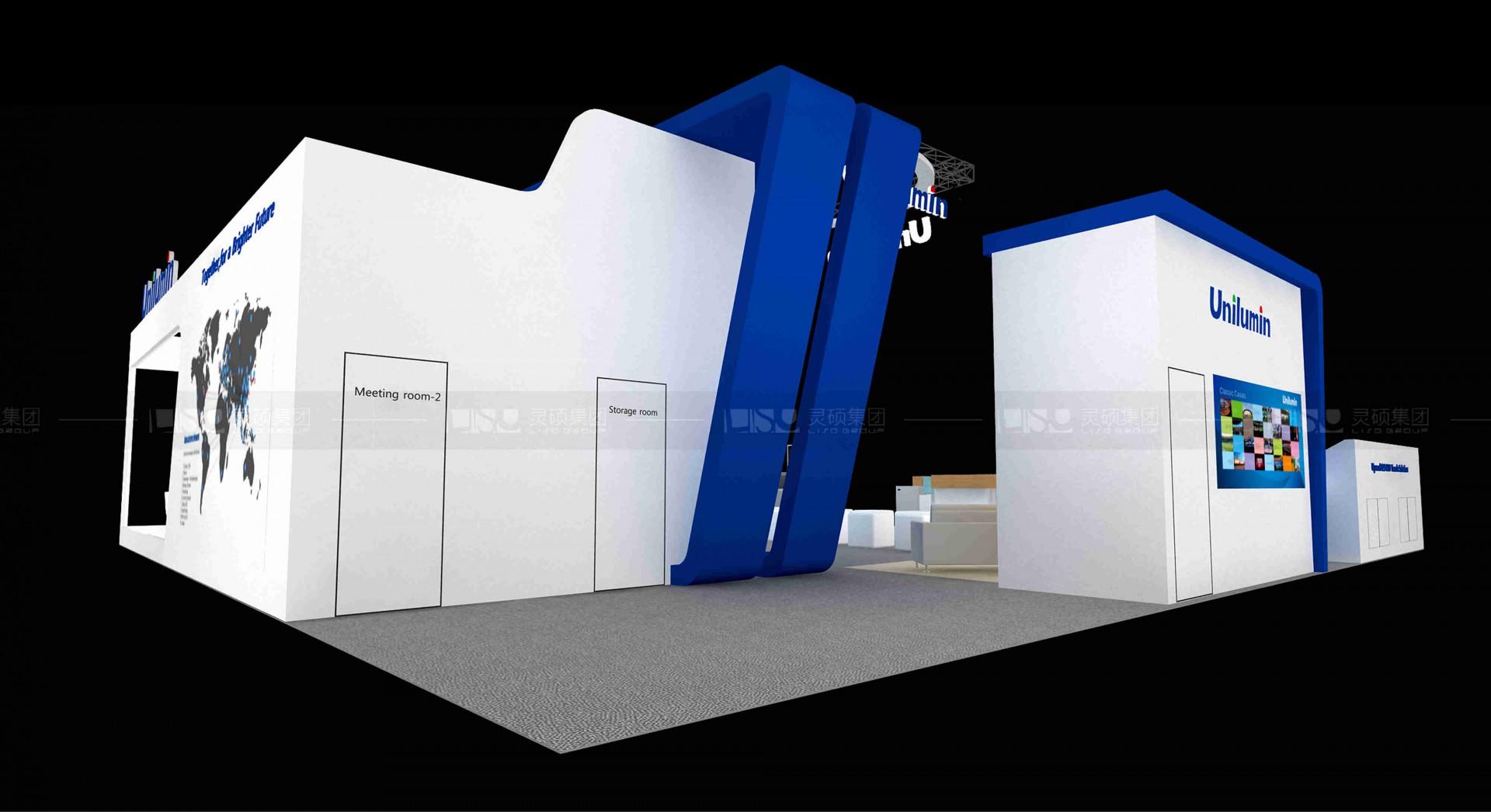 洲明科技-美国NAB展台设计搭建