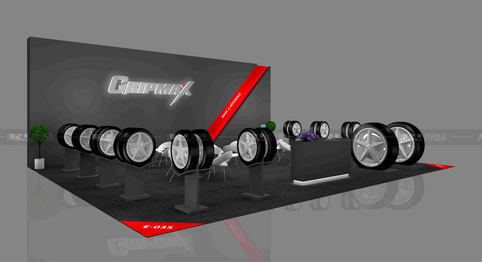 格力普-科隆轮胎展台设计搭建案例