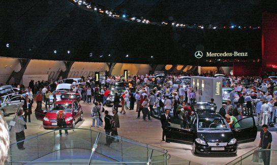 德国汉诺威国际商务车辆展览会