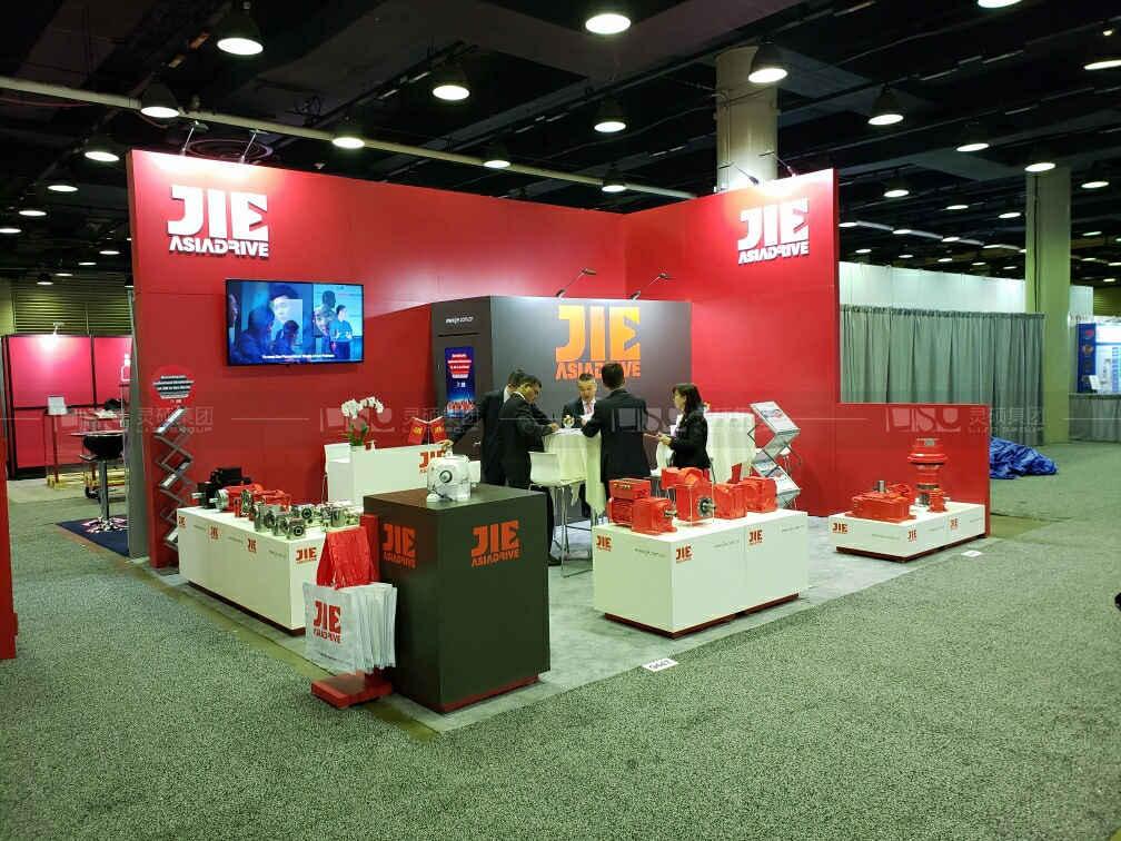 杰牌集团-美国包装机械展台设计