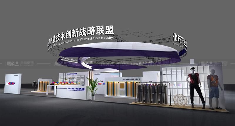 中国纺织科学研究院-服装展览设计搭建案例