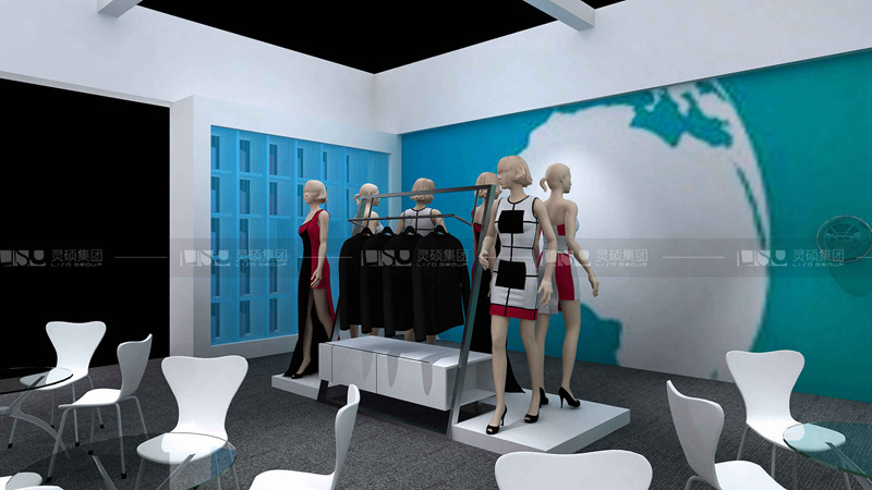 美达-纺织展览设计搭建案例
