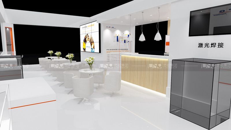 阿帕奇-工博会展台设计搭建案例