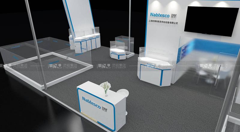 納博特斯克-工博会展台设计搭建案例