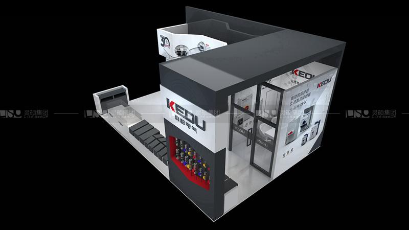 科都-工博会展台设计搭建案例