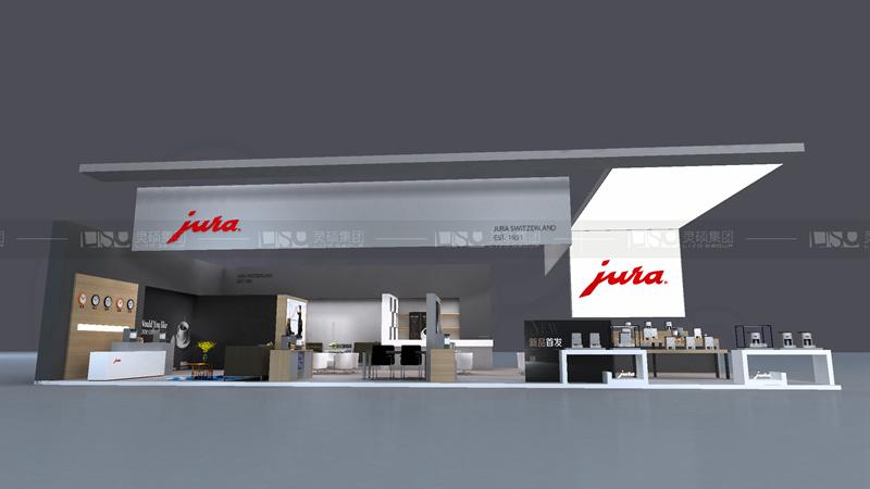 齐杰-酒店用品展台设计案例