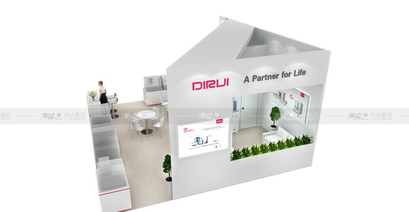 迪瑞-德国医疗展展台设计搭建
