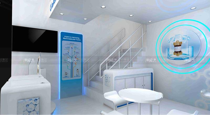 健帆-德国医疗展展台设计搭建
