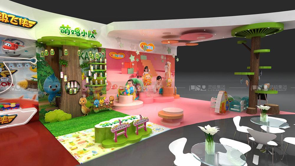 奥飞-孕婴童展览设计案例
