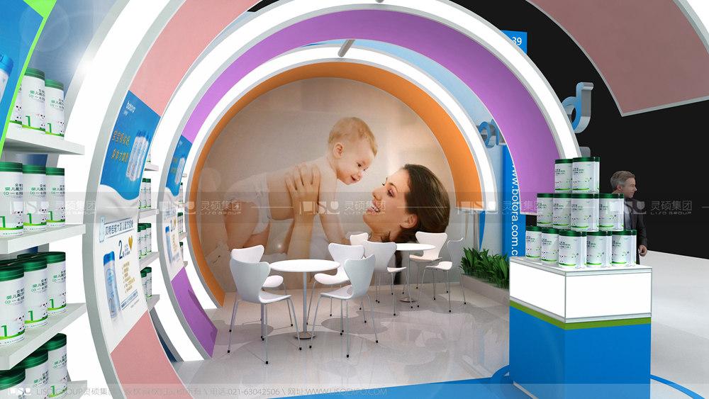 贝特佳-孕婴童展览设计案例