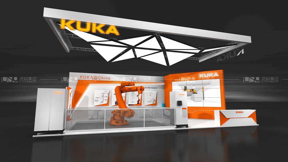 库卡-慕里黑电子展台设计