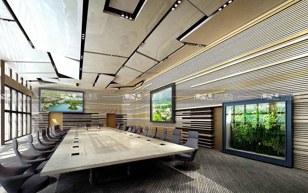 确山产业集聚区综合展示中心产业园区设计搭建