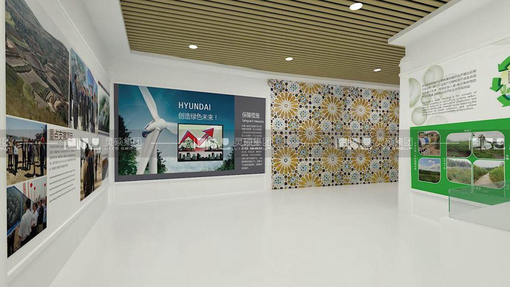 甘肃临夏绿色清真产业经济开发区规划馆设计案例