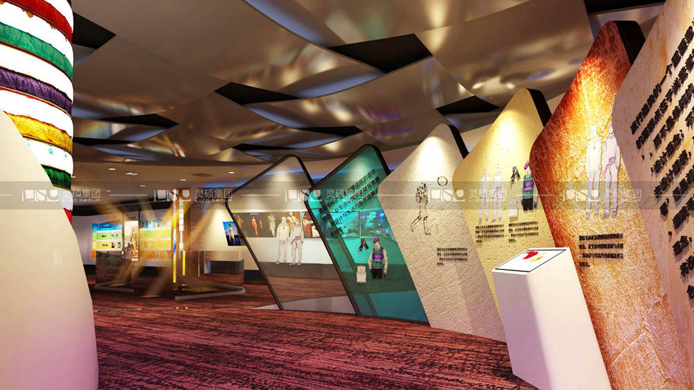 濮院羊毛衫文化展示中心规划馆设计搭建