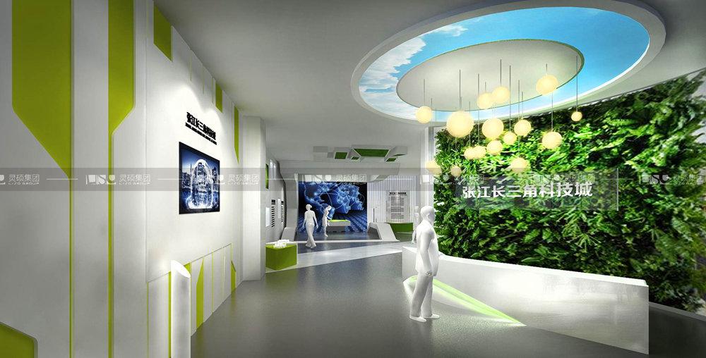 张江长三角科技展厅设计搭建