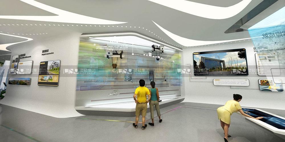 长沙高新区展厅设计搭建