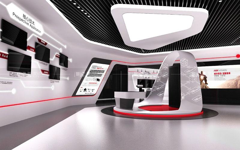 海康威视展厅设计搭建