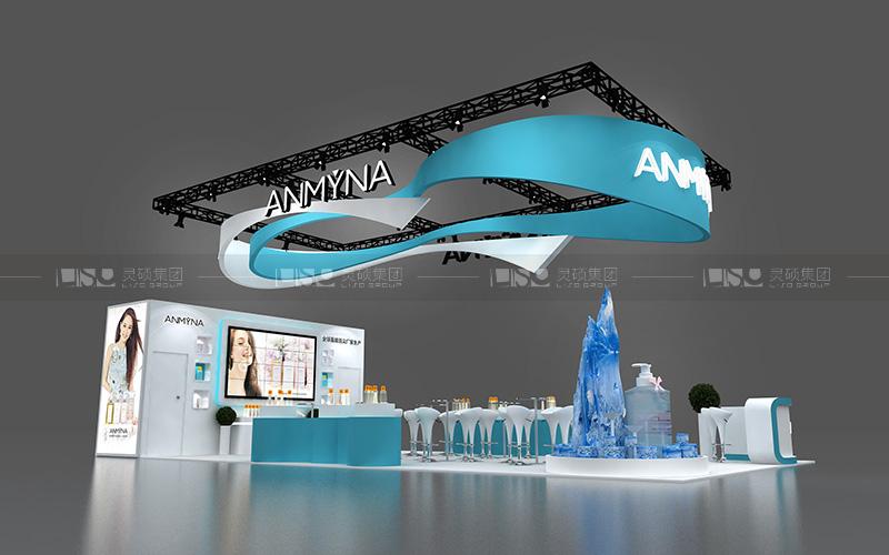 马丁宝-美容展台设计搭建案例