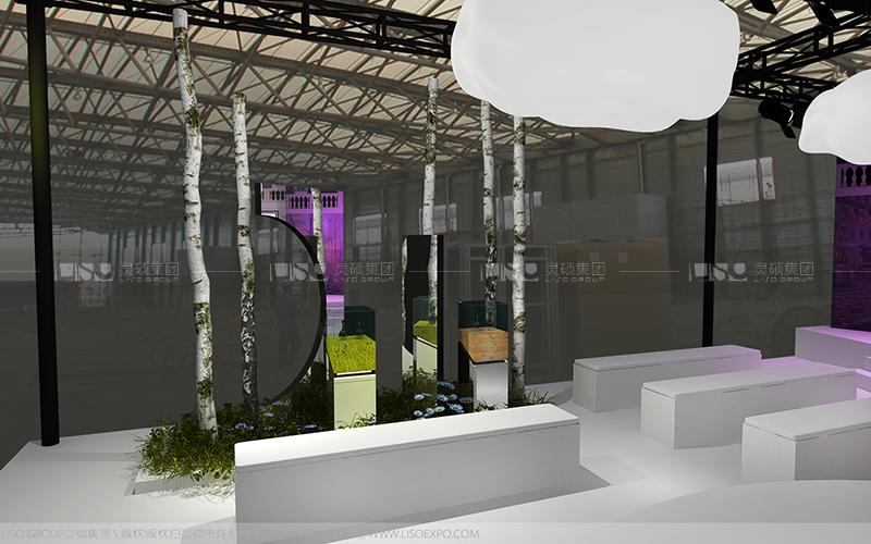 C2CC-美容展台设计搭建案例