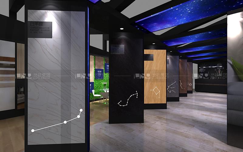 宏耐-地材展台设计搭建案例
