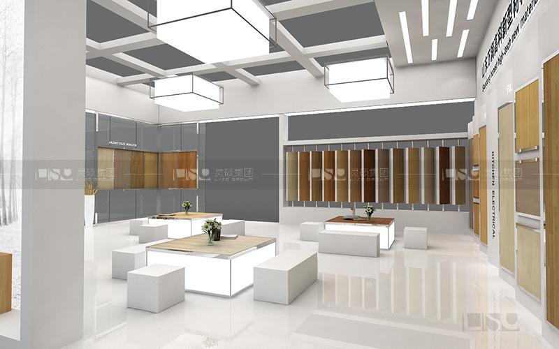 华元-地材展台设计搭建案例