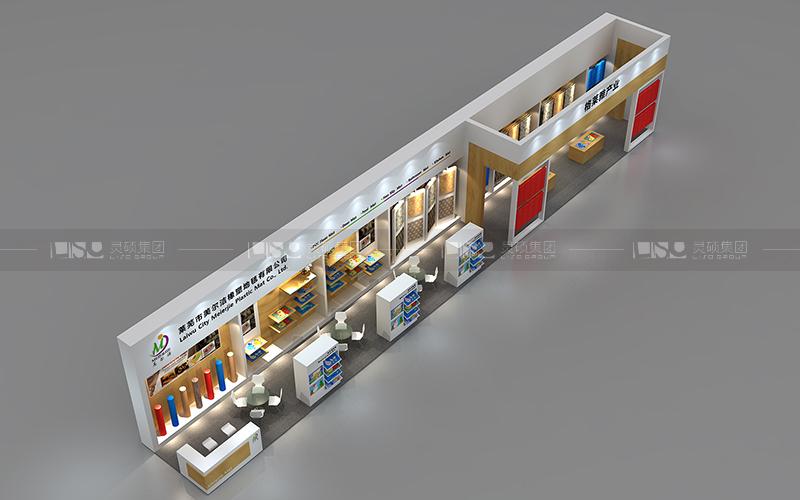 美尔洁-地材展台设计搭建案例