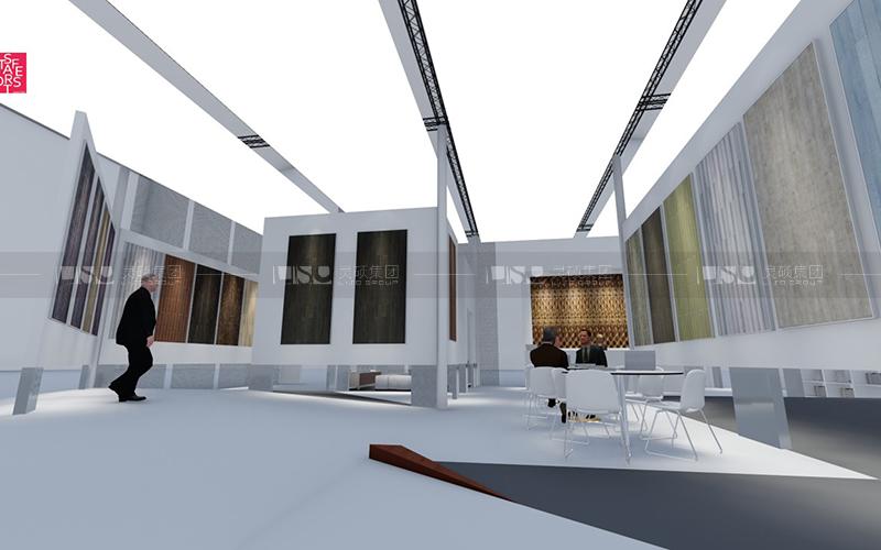 森林之星-地材展台设计搭建案例