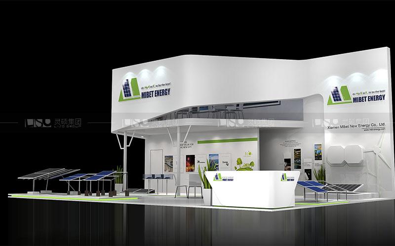 迈贝特-光伏展台设计搭建案例
