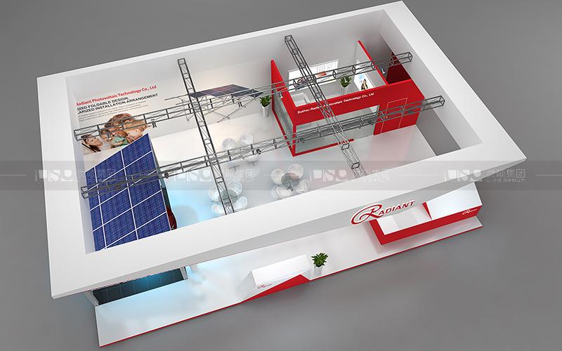 瑞得恩-光伏展台设计搭建案例