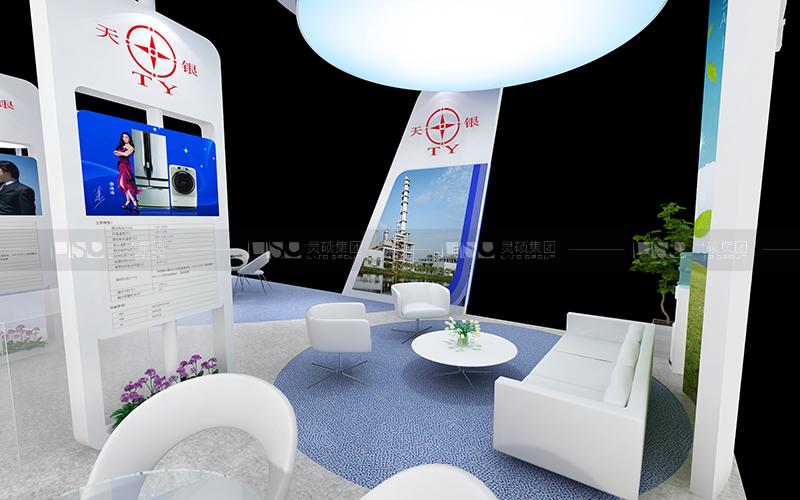 天银机电-家电展台设计搭建案例